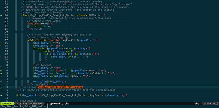 Vim Visual Mode Search for Selection