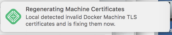 Local By Flywheel Regenerating Machine Certificates Notification.